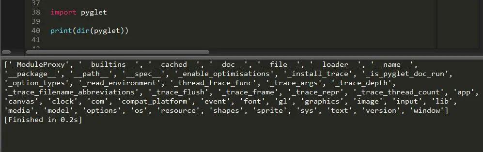 一篇文章带你了解Python中的游戏开发模块pyglet