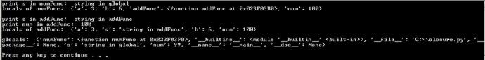 Python 中的闭包