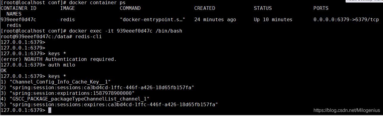 开发机连接Docker中的redis容器小案例