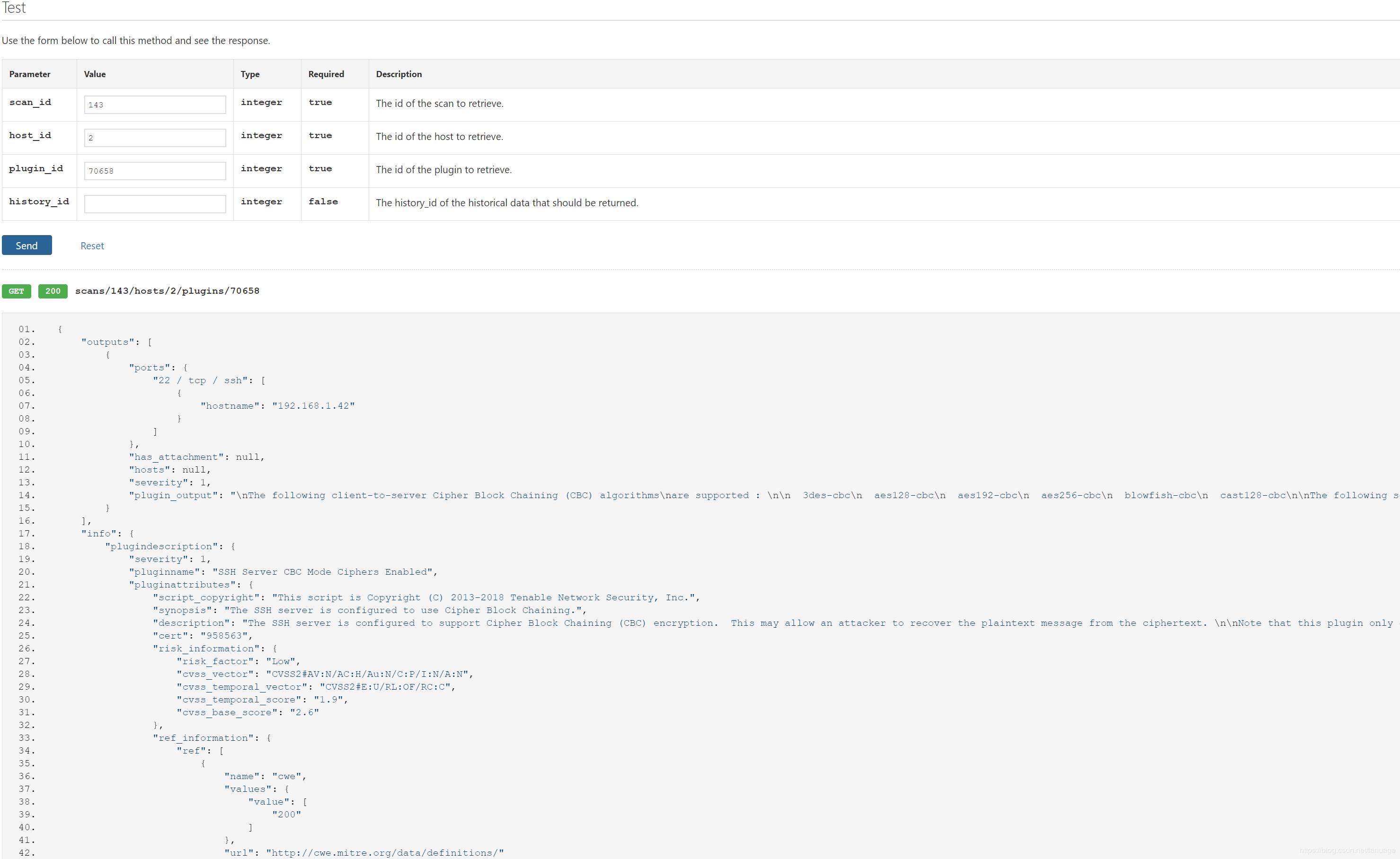 使用Python调用Nessus 接口实现自动化扫描