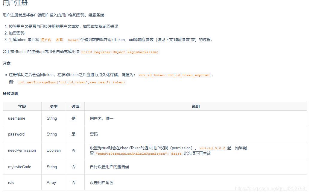 uni-id入门(五)---基础操作(上)