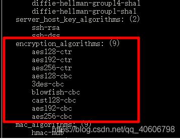 漏洞复测系列 -- SSH 支持弱加密算法漏洞