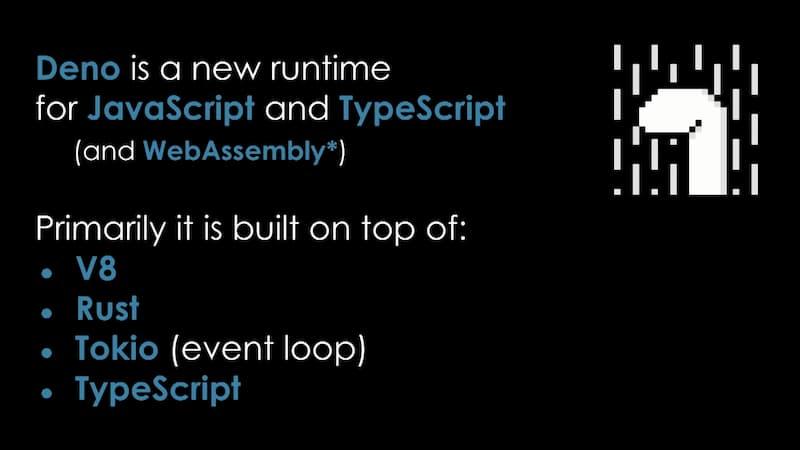 Deno 运行时入门教程:Node.js 的替代品
