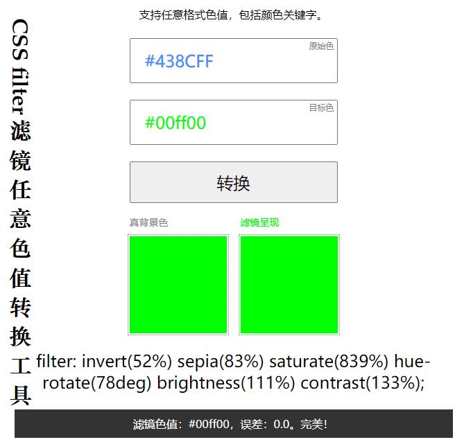 用CSS也可以任意改变PNG图标颜色?