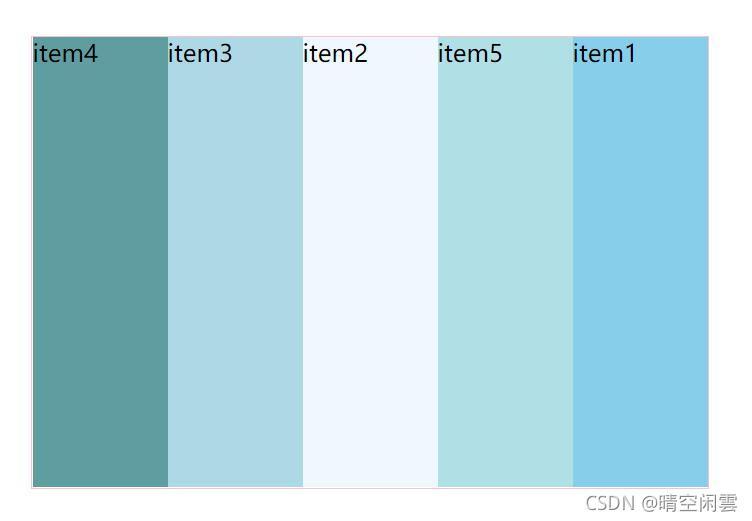 06-项目属性flex和order