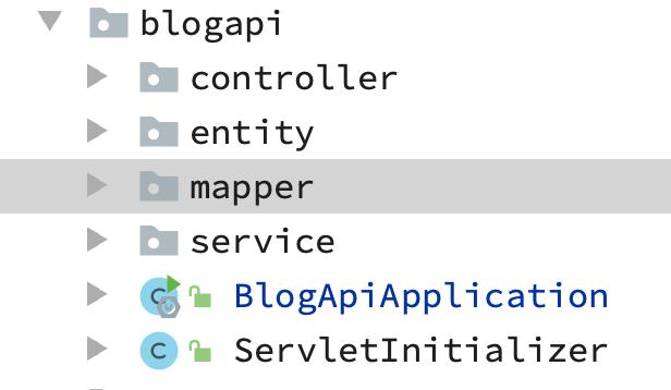 个人博客开发之blog-api项目整合MyBatisPlus代码自动生成CURD