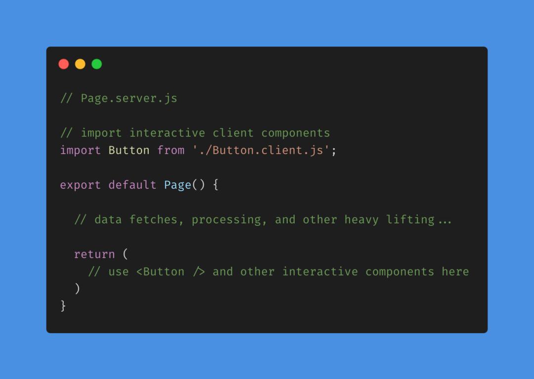 React的未来:服务端组件