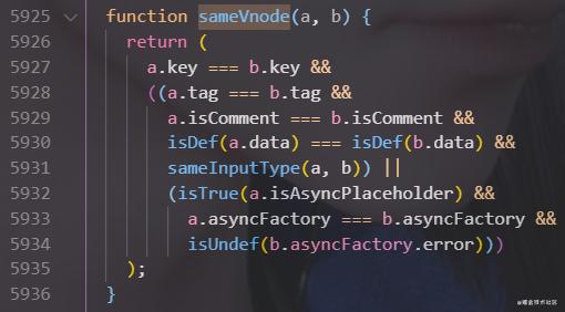 Vue - diff 算法