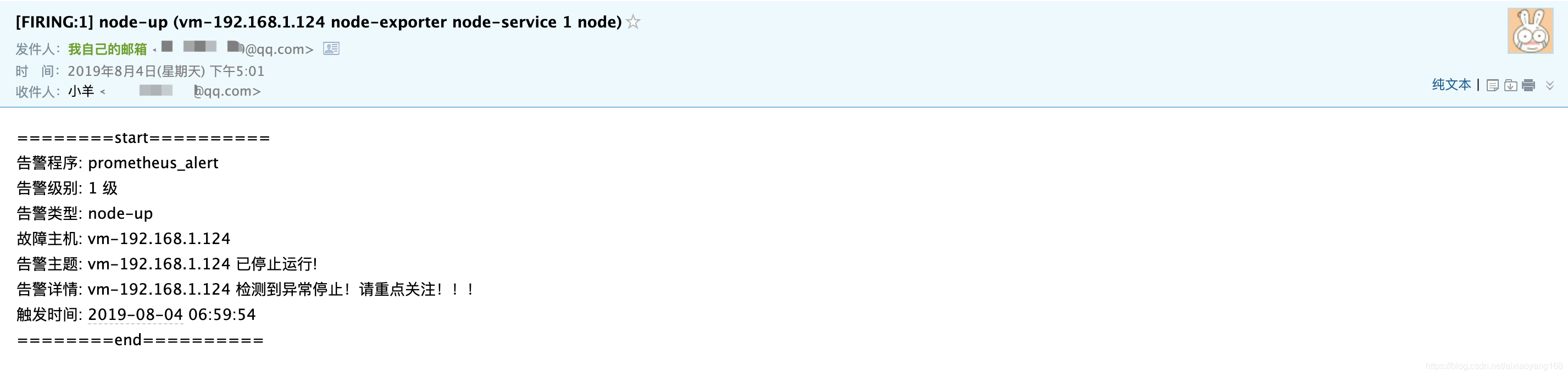 Prometheus 监控报警系统 AlertManager 之邮件告警