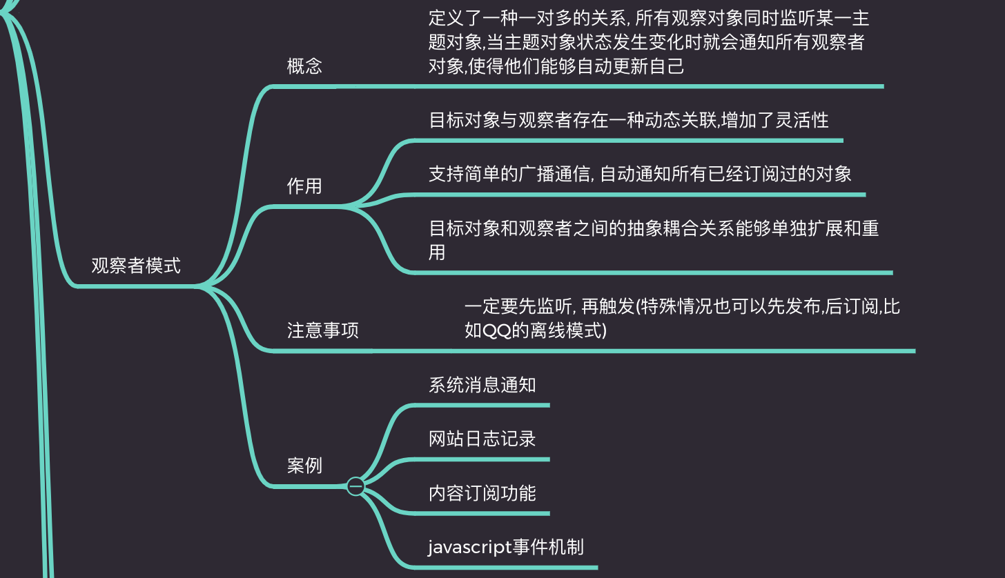 15分钟带你了解前端工程师必知的javascript设计模式(附详细思维导图和源码)