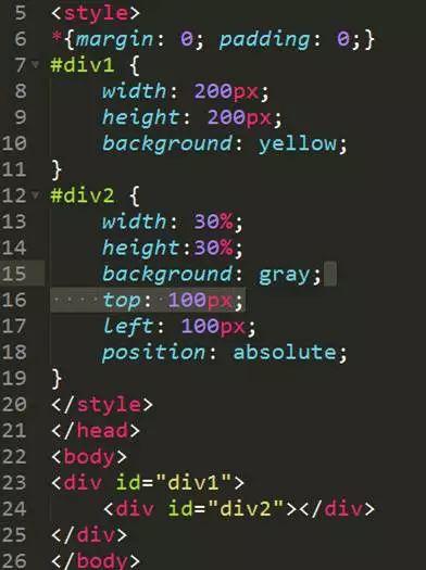 干货   CSS中的四种定位有什么区别?